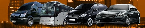 Privat Transfer von Courchevel nach Annecy