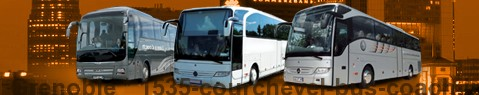 Private transfer from Grenoble to Courchevel with Coach