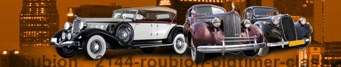 Vintage car Roubion | classic car hire