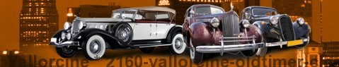 Vintage car Vallorcine | classic car hire