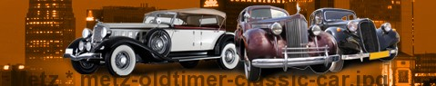 Vintage car Metz | classic car hire
